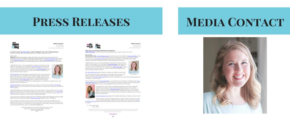 Press Releases Miami Moms Blog