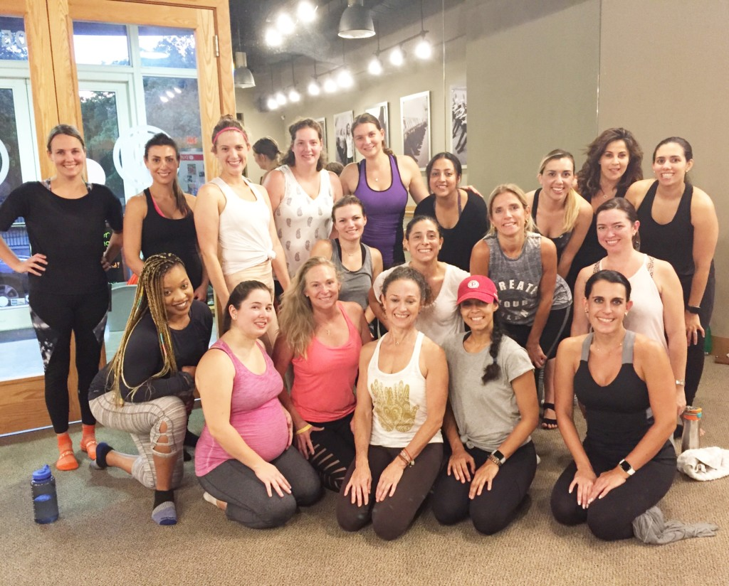 Miami Moms Blog Pure Barre Event Recap Moms Night Out