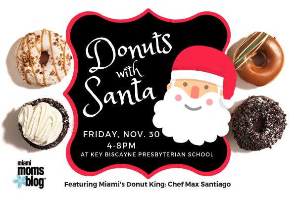 Donuts With Santa KEY BISCAYNE November 30 Miami moms blog