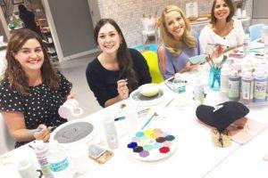 Miami Moms Blog Artsy Hive Pottery Painting Miami Shores