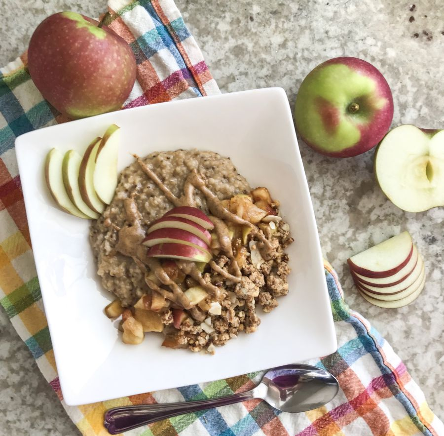 Steel Cut Oats and Apples : An Easy & Delicious Fall Recipe