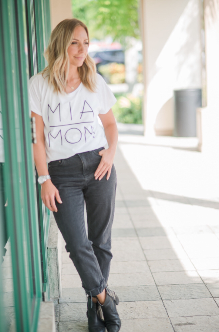 Preorder Your New Favorite Wardrobe Basic: The MIA MOM T-Shirt