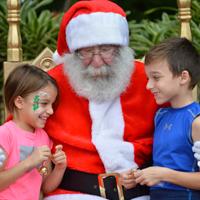 Santa Pinecrest Gardens Nights of Lights: A Tropical Holiday Wonderland Kathy Safi Contributor Miami Moms Blog