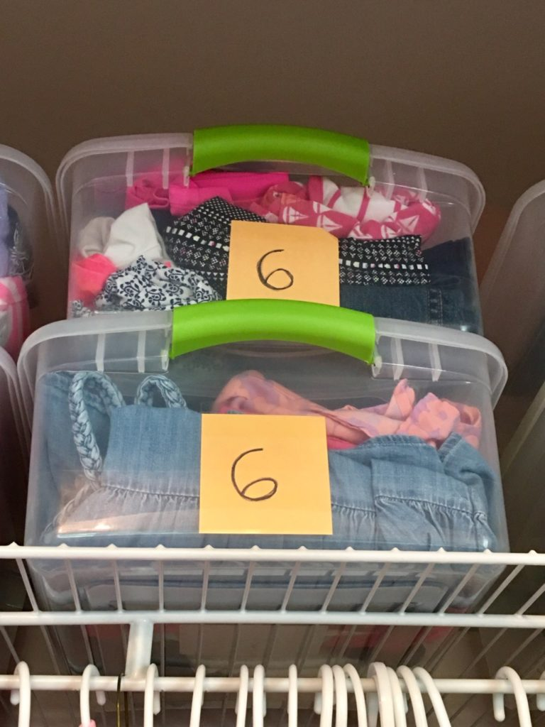 Storing kids clothes Get Organized: 6 Spring Cleaning Tips to Help You Get Started Vanessa Santamaria Contributor Miami Moms Blog
