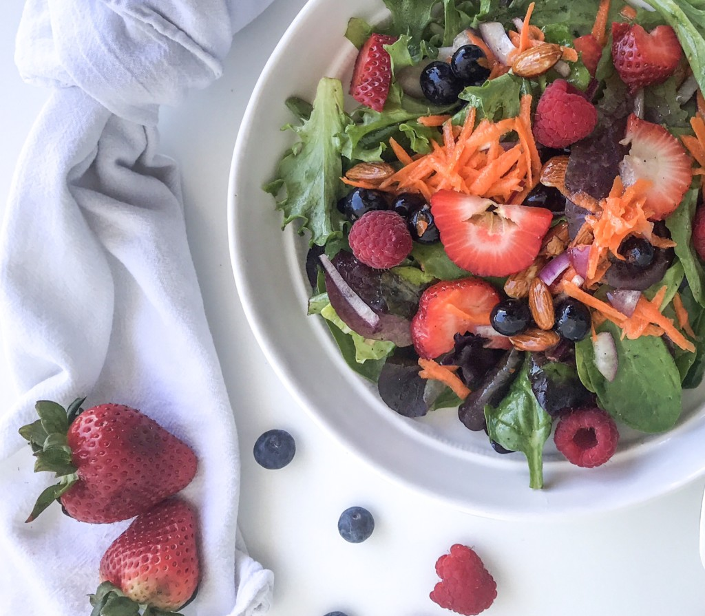 berry salad Springtime Berry Salad: An Easy & Delicious Meal Whitney Khan Contributor Miami Moms Blog