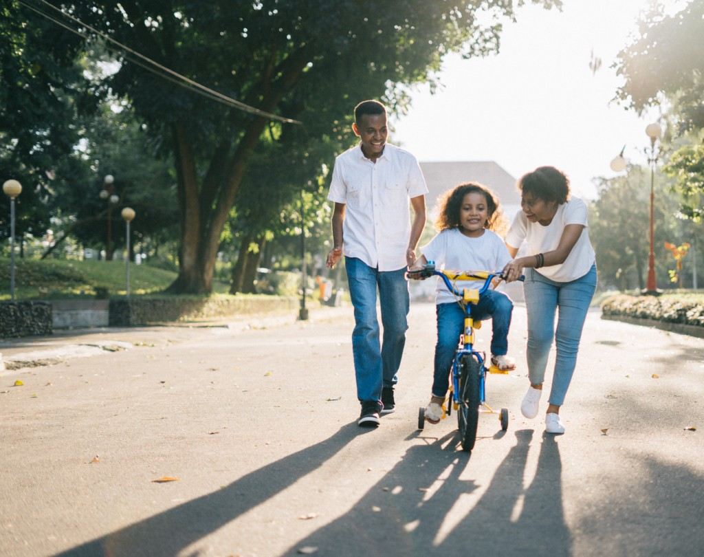 Stock Art Family Bike Ride How to Ride a Bike: Teaching Your Kids Without Training Wheels or Tears Amy Stone Contributor Miami Moms Blog