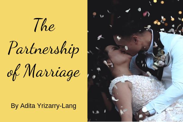 The Partnership of Marriage Miami Moms Blog Contributor Adita Lang