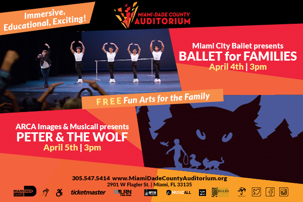 Peter and the wolf miami city ballet miami moms blog Miami Family Events & Activities Guide