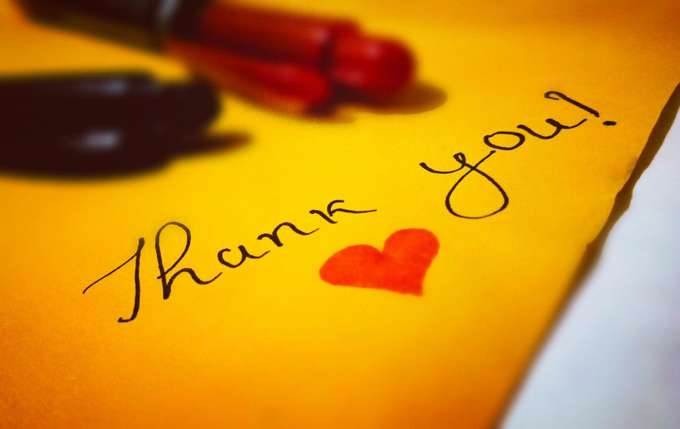 Handwritten Thank You Adita Lang Contributor Miami Moms Blog