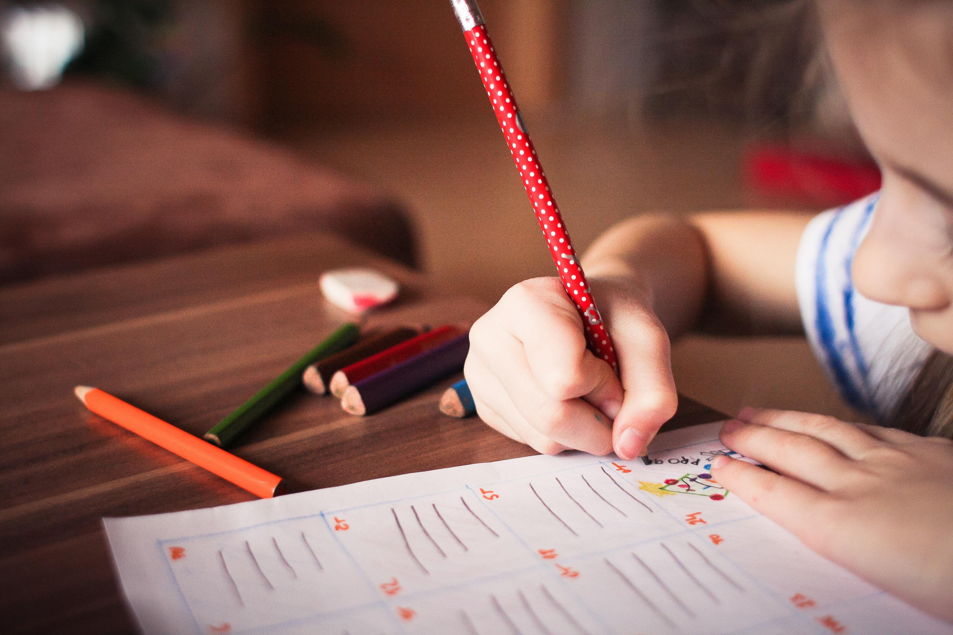 child writing Adita Lang Contributor Miami Moms Blog