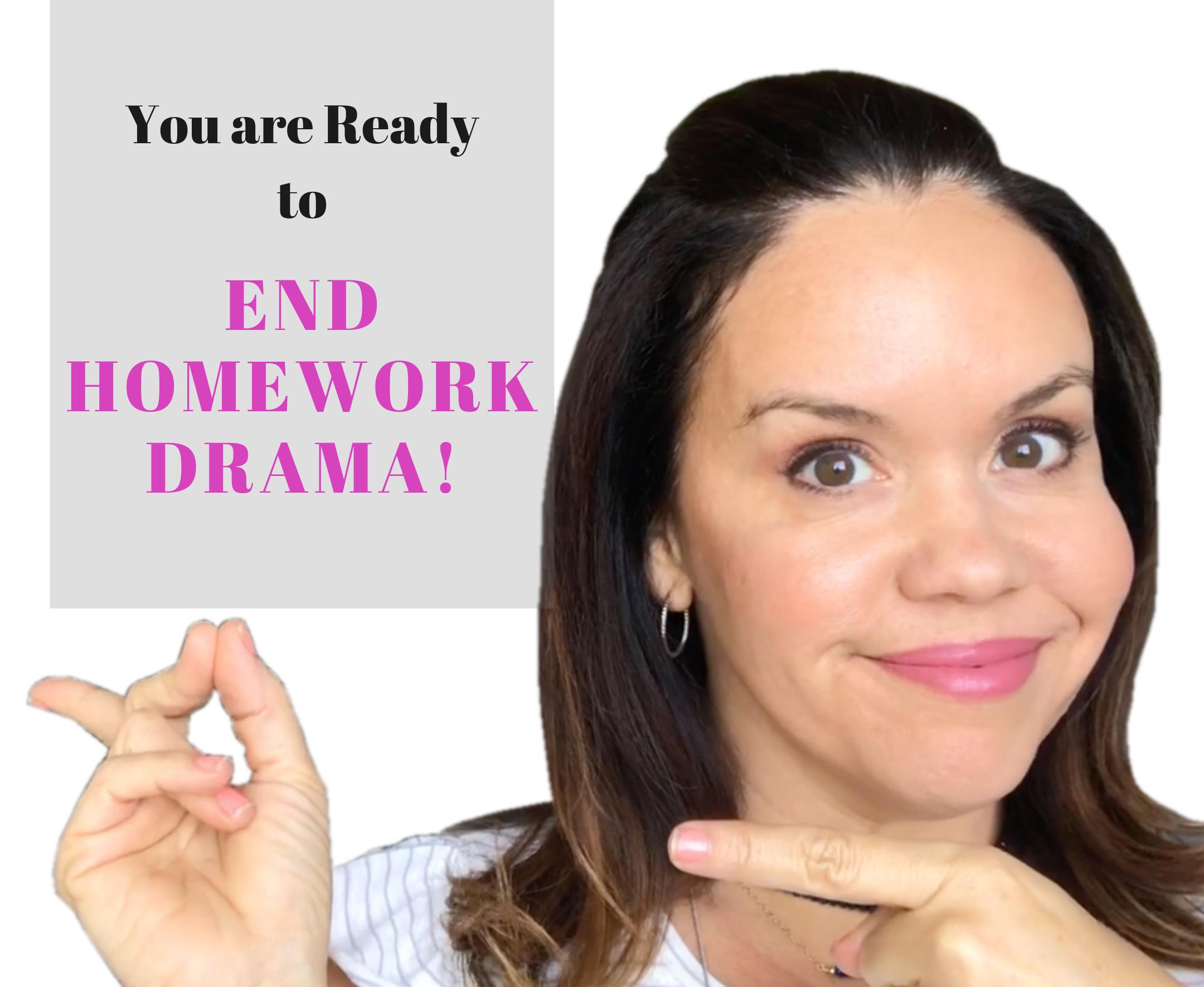 Schoolwork Homework Nicole Santamaria Contributor Miami Moms Blog