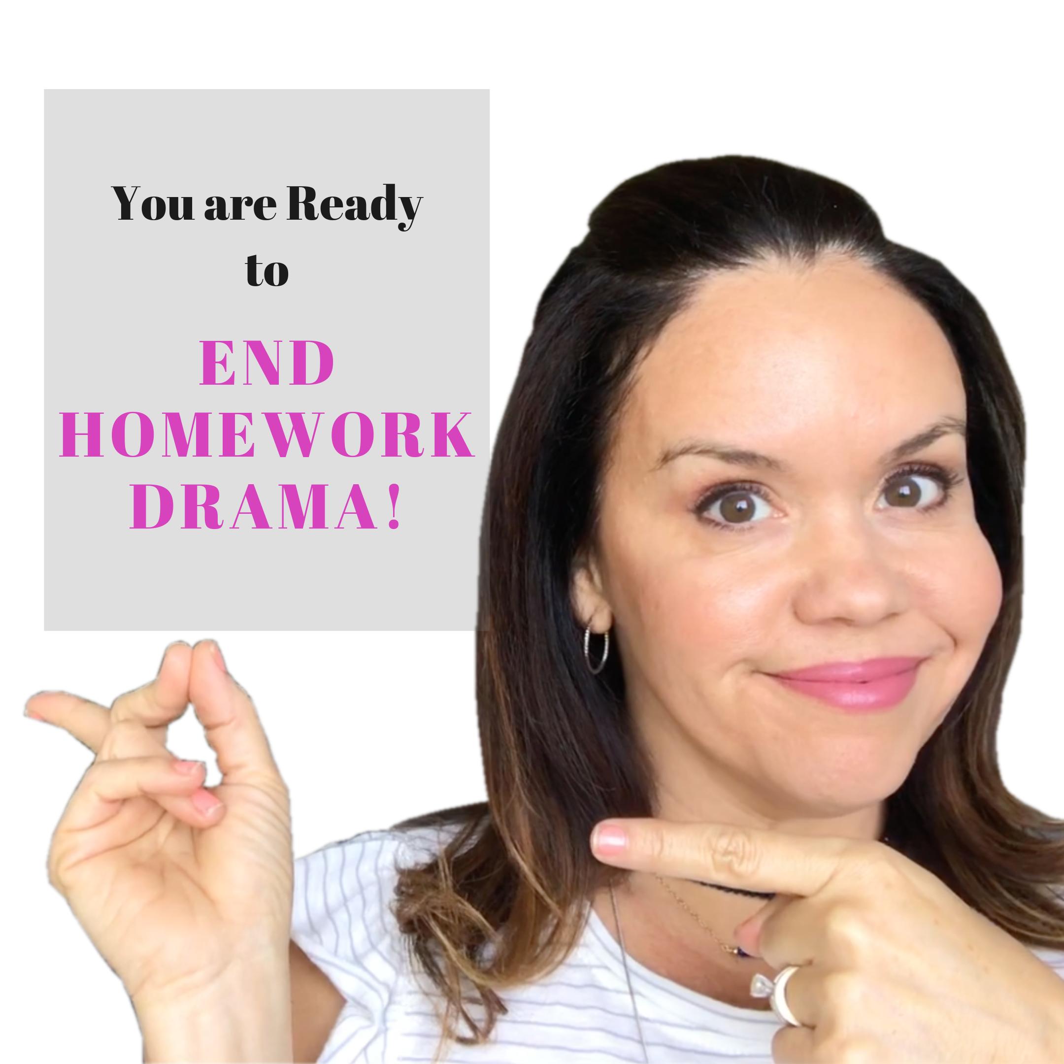 Homework Drama: Here's How You Can End It for Good Nicole Santamaria Contributor Miami Moms Blog