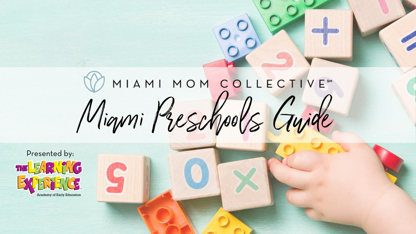 Miami Mom Collective Preschools Guide 2021