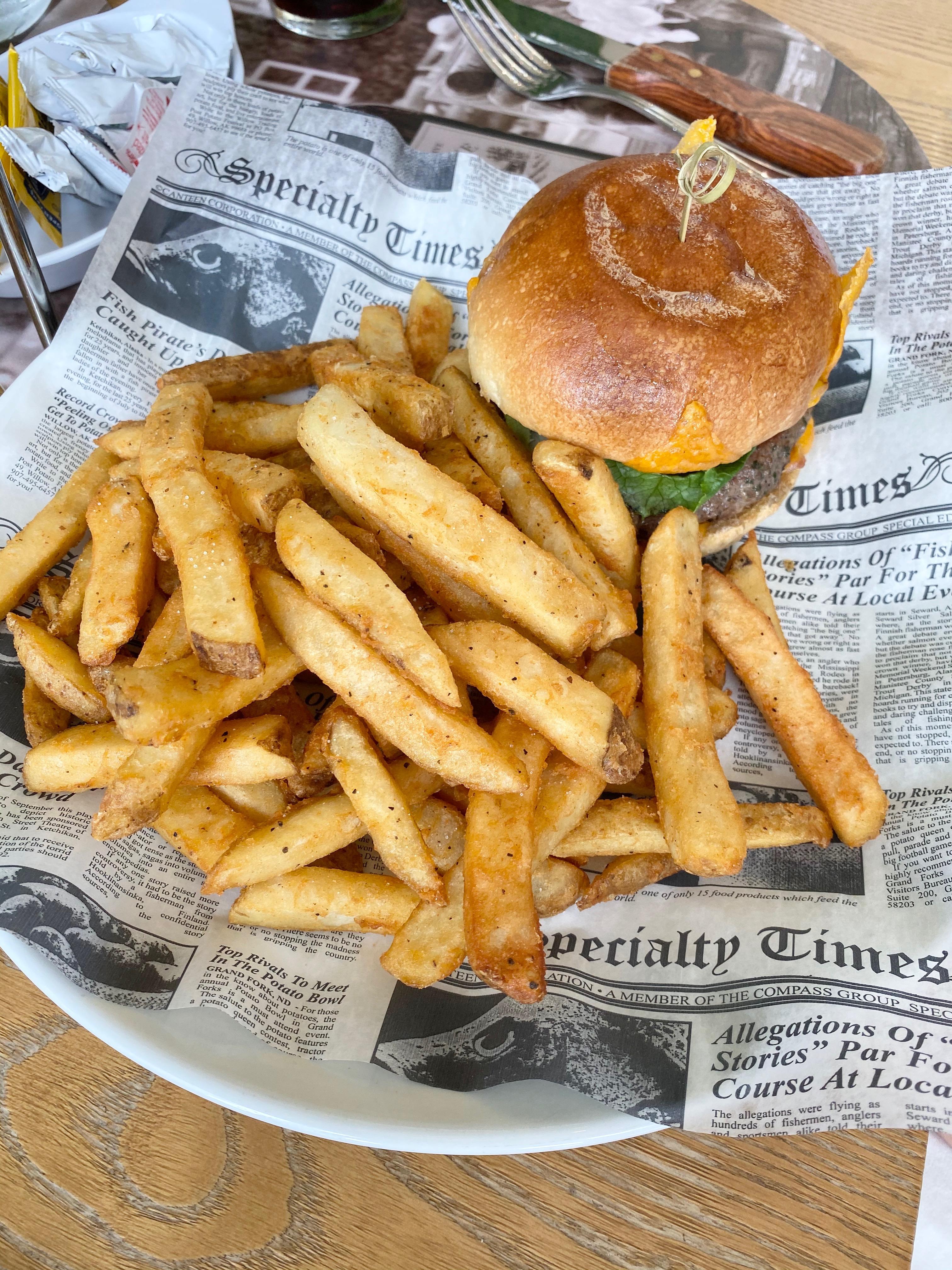MVY Restaurant Villagio Classic Picanha Burger Miami Moms Blog Becky Salgado
