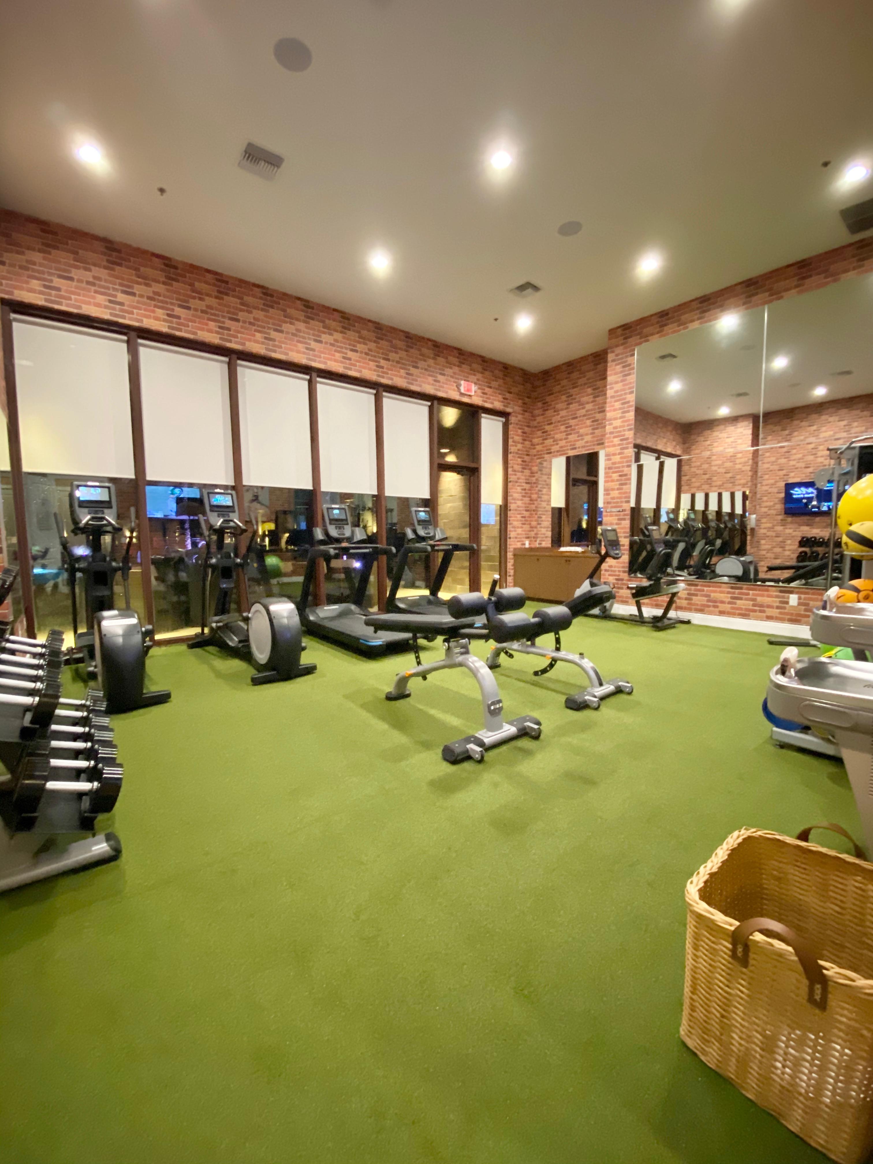 MVY Fitness Room Miami Moms Blog Becky Salgado