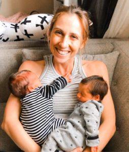 mama and twins Ashley Rodrigues Contributor Miami Moms Blog