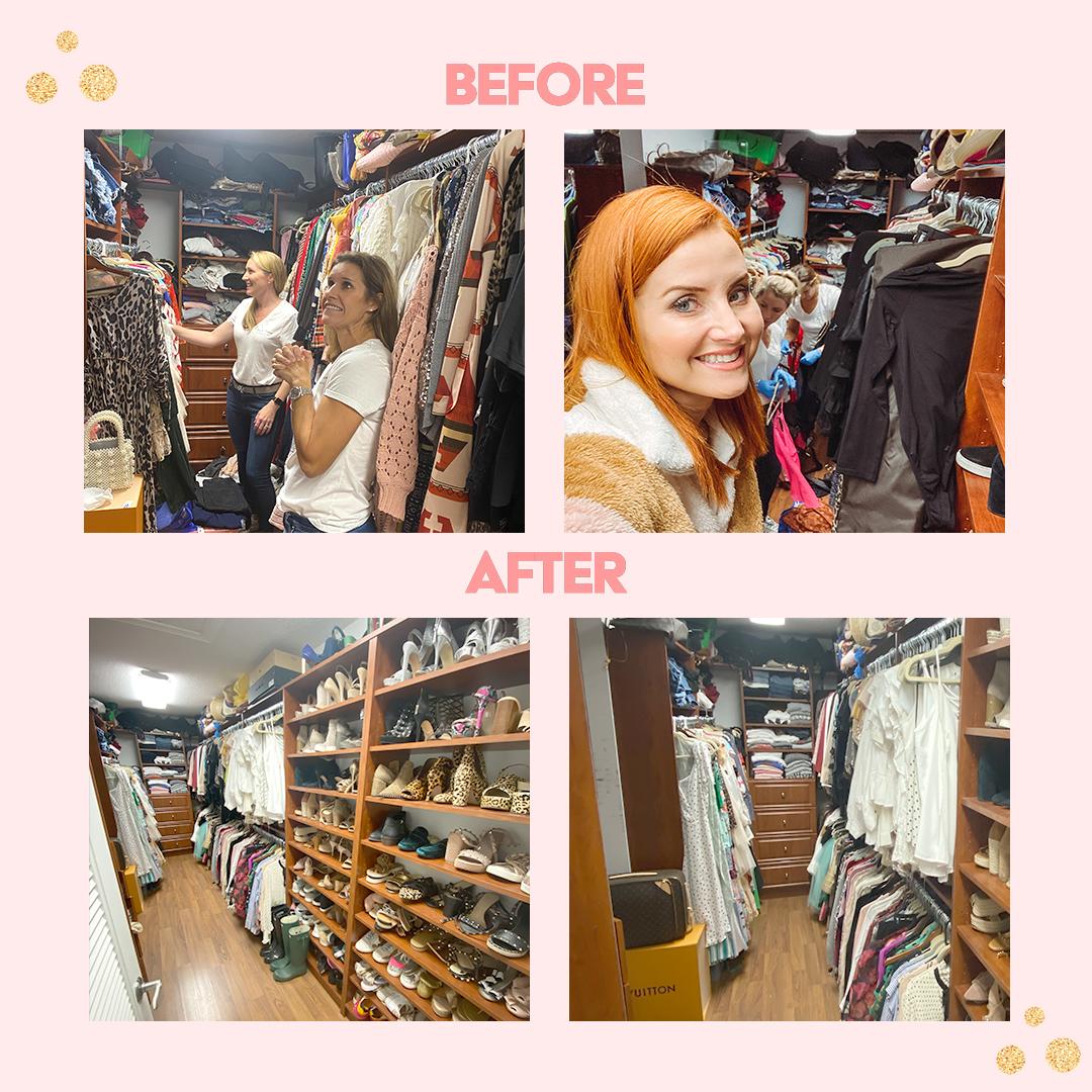 Before & After Closet Dacia Wiegandt Contributor Miami Moms Blog