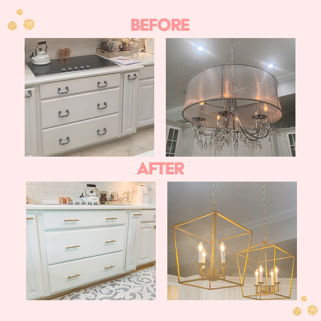 Before & After Kitchen Dacia Wiegandt Contributor Miami Moms Blog