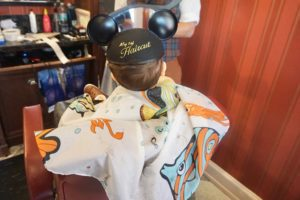 Baby's First Haircut | Disney Edition Miami Moms Blog Becky Salgado