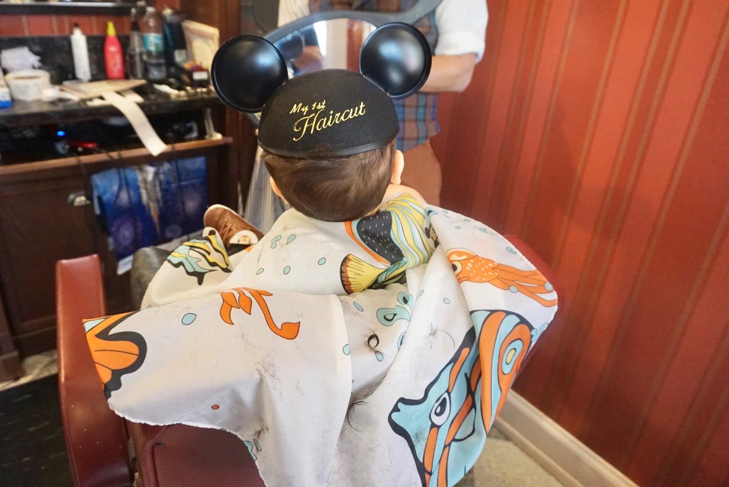 Baby's First Haircut | Disney Edition Miami Moms Blog Becky Salgado