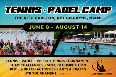 Cliff Drysdale Tennis The Ultimate 2020 Guide to Summer Camps Miami Moms Blog
