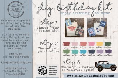 miami moms blog social distancing birthday party guide nailed it DIY