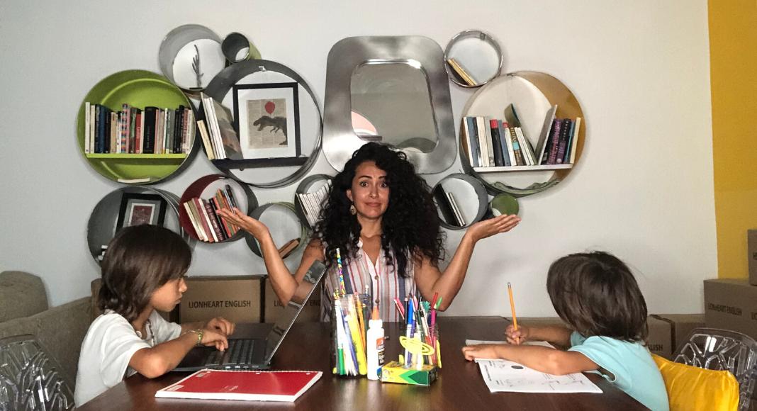 """¿""""Homeschooling"""" durante la cuarentena? Estos 3 consejos son para ti Caro Mejia Contributor Miami Moms Blog"""