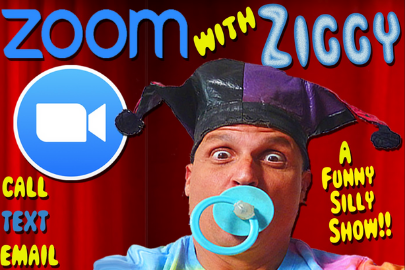 miami moms blog social distancing birthday party guide Ziggy the clown