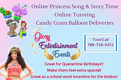 miami moms blog social distancing birthday guide glory entertainment group