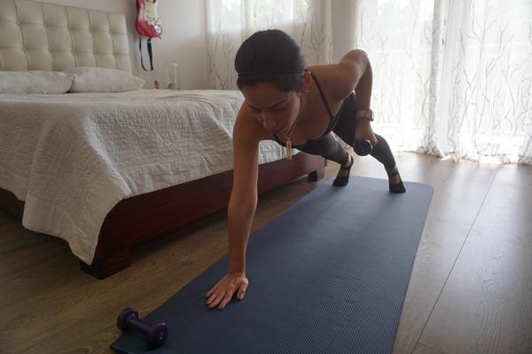 Meus três aplicativos favoritos para fazer exercícios em casa + Macy Calderon + Renata Brissi