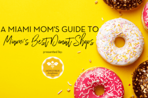 National Donut Day Miami Moms Blog Honeybee Doughnuts
