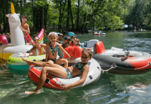 Ginnie Springs, Santa Fe River Tubing Adventure {Road Trip Series} Miami Mom Collective Illicit Ojeda