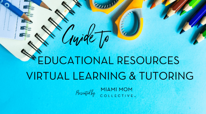 Educational Resources, School Assistance & Tutoring Guide Miami Mom Collective