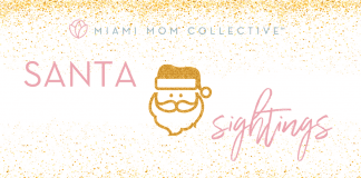 2020 Guide to Miami Santa Sightings Lynda Lantz Contributor Miami Mom Collective