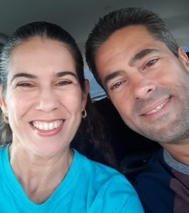 Becky and her husband (Creative Date Night Ideas on a Budget Becky Gonzalez Contributor Miami Mom Collective)