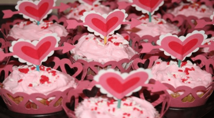 Allergy-friendly dairy and egg-free strawberry cupcakes (Valentine's Dinner: An Allergy-Friendly Menu Gabriela Morales Contributor Miami Mom Collective)