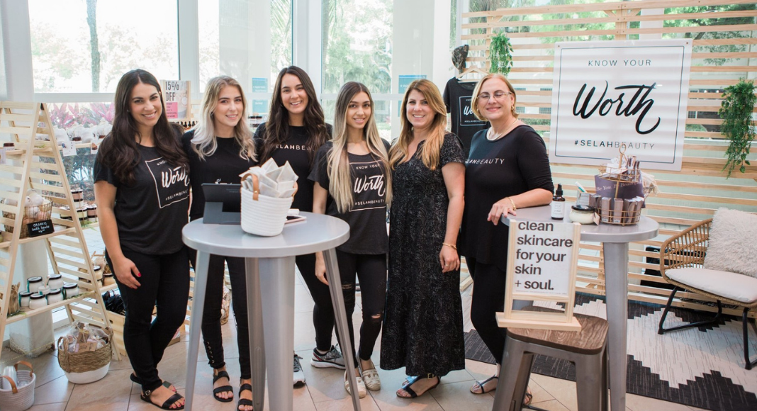 A group from Selah Skin Care at our Bloom event (Small Business: How to Help Mom and Pop Shops During Covid Minerva Roca Contributor Miami Mom Collective)