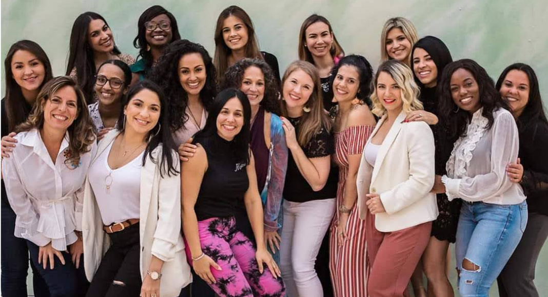 Members of the Miami Mom Collective Team (Galentine's Day: What It Is and How to Celebrate It Minnie Roca Contributor Miami Mom Collective)