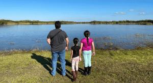 Vanessa's family at Everglades National Park (Everglades National Park: Perfect for a Family-Friendly Adventure Vanessa Santamaria Contributor Miami Mom Collective)