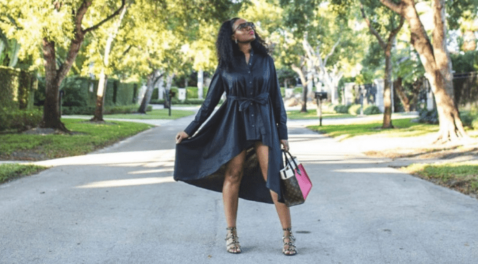 Sharonda showing off her style (Personal Style: Discover How to Find Yours Sharonda Stewart Contributor Miami Mom Collective)