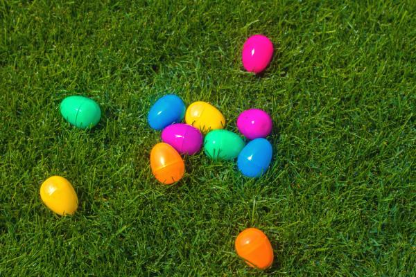 Colorful Easter eggs (Jessica Alvarez-Ducos Contributor Miami Mom Collective)