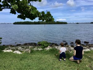 Brittany and her son at Legion Park (Love Where You Live: Why I Love Living in the Upper East Side Brittany Aquart Contributor Miami Mom Collective)