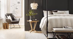 A trendy bedroom design (Home Design Trends: The Art of Living Well Vanessa Santamaria Contributor Miami Mom Collective)