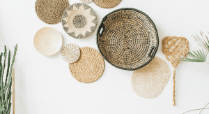 Some natural wall hangings (Home Design Trends: The Art of Living Well Vanessa Santamaria Contributor Miami Mom Collective)