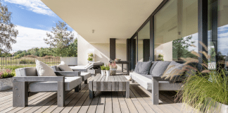A multifunctional outdoor living space (Home Design Trends: The Art of Living Well Vanessa Santamaria Contributor Miami Mom Collective)