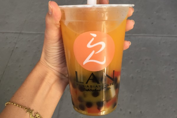 Bubble tea from Lan's Pan Asian (Bubble Tea: My Epic Quest for the Perfect Boba Combination Kristen Llorca Contributor Miami Mom Collective)