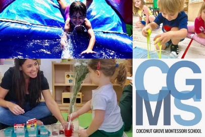 Coconut Grove Montessori School Image & Logo (Summer Camps: A Miami Mom's Ultimate Guide for Summer 2021 Lynda Lantz Contributor Miami Mom Collective)