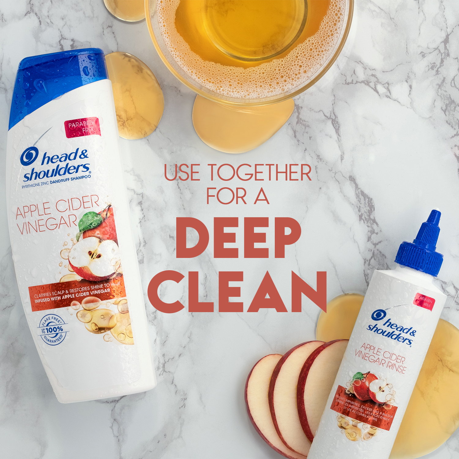 Refresh Your Health and Beauty Routine for Spring | Spend Less with P&G and Publix Becky Salgado Miami Mom Collective head and shoulders apple cider vinegar