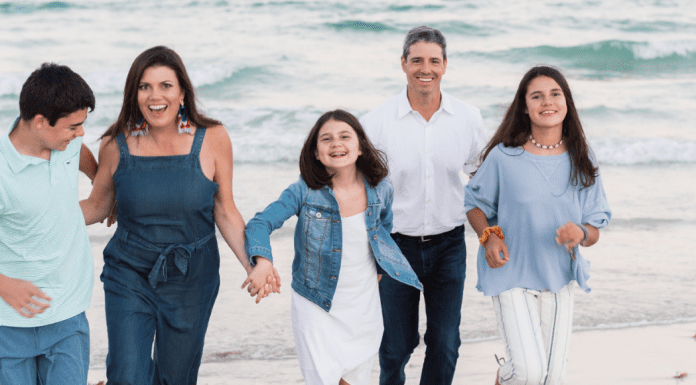 Meredith and her family at the beach Miami Mom Collective Welcomes MIA Mom Meredith Kallaher Contributor