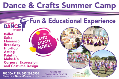 Pinecrest Dance Project Summer Camp Flyer (Summer Camps: A Miami Mom's Ultimate Guide for Summer 2021 Lynda Lantz Contributor Miami Mom Collective)